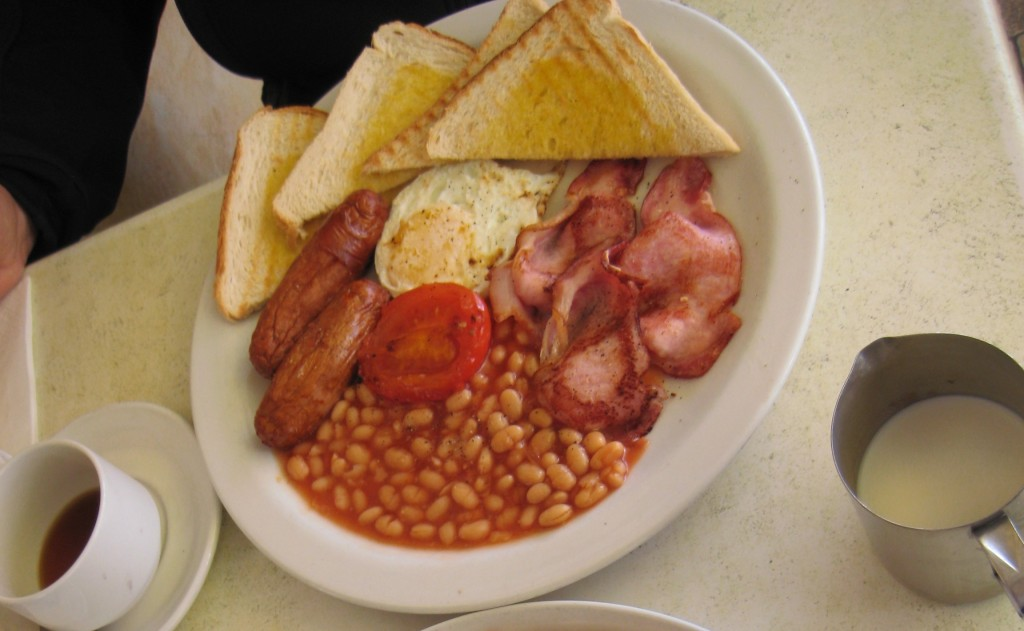 This is an English Breakfast, common here with the large British population.