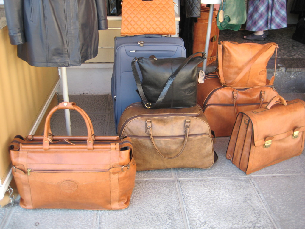 Yummy leather goods I mentioned in an earlier post.