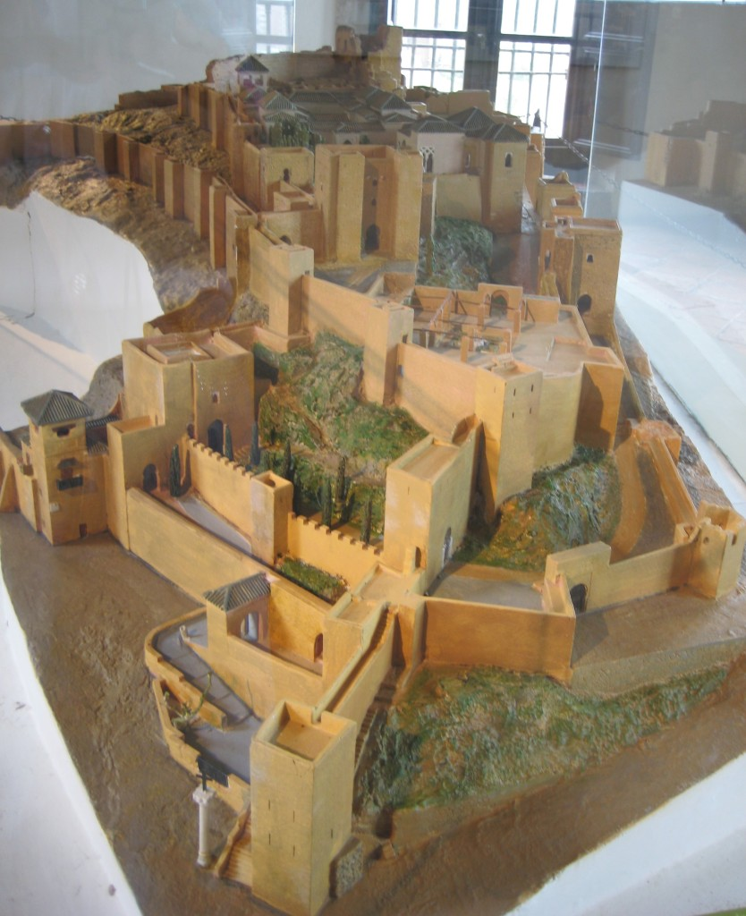 A model gives a good perspective of this sprawling, massive structure.